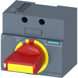 FRONT MOUNTED ROTARY OPERATOR EMERGENCY-OFF IEC IP30/40 ACCESSORY FOR 3VM 160 SIEMENS Германия